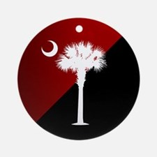 Sc Flag (g&b) Ornament (round)