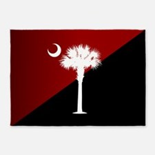 SC Flag (g&b) 5'x7'Area Rug