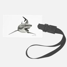 Great White Shark Hunting Luggage Tag