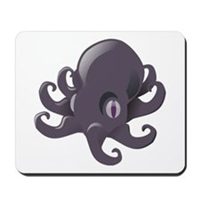Cute Cartoon Octopus Mousepad
