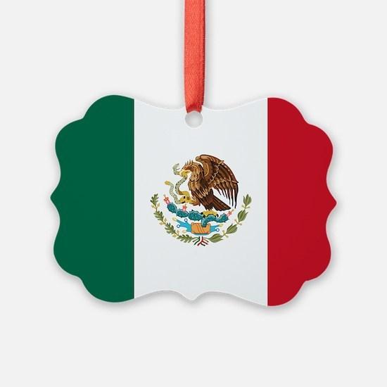Mexican Flag Ornament