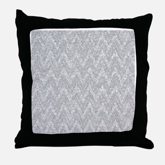 Cute Gray Throw Pillow