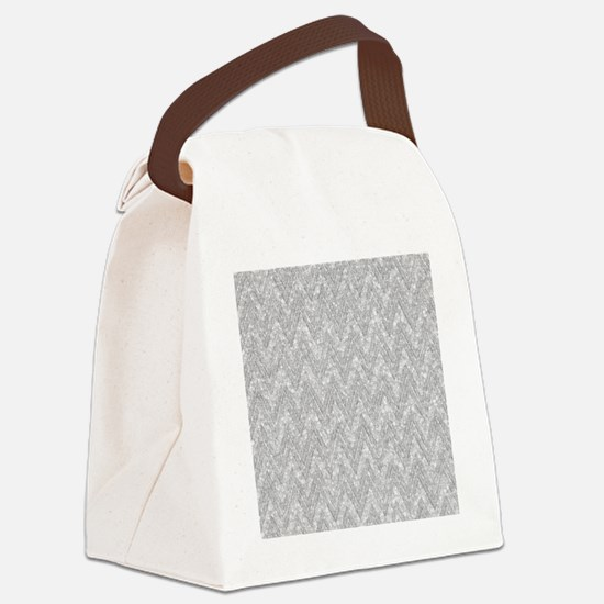Funny Pattern Canvas Lunch Bag