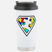 Unique Autism awareness month Travel Mug