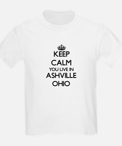 Keep calm you live in Ashville Ohio T-Shirt