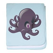 Cute Cartoon Octopus baby blanket