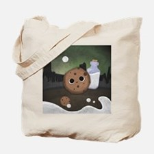 Midnight Cookie with Milk Tote Bag