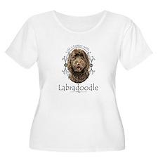Labradoodle Plus Size T-Shirt