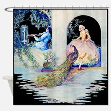 Tsanya Enchantment Peacock Shower Curtain