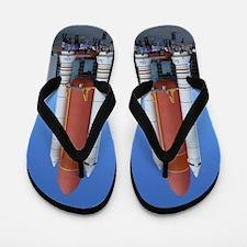 Rocket Cape Canaveral Flip Flops