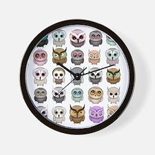 Cute Owls Wall Clock