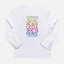 Thought She Be But Little She Long Sleeve T-Shirt