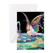 Tsanya Fountain of Love Greeting Cards
