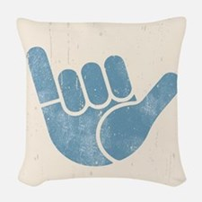 Shaka Wave Woven Throw Pillow