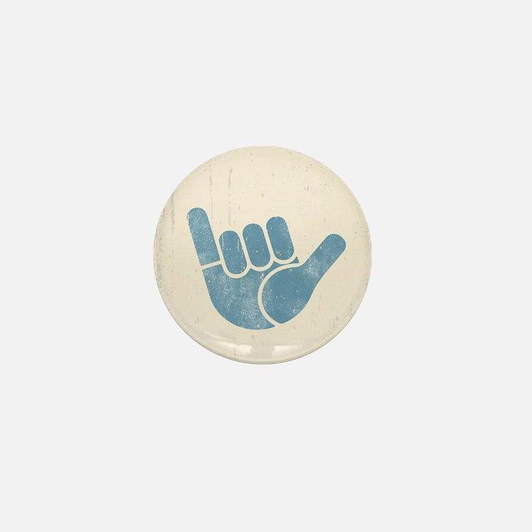 Shaka Wave Mini Button