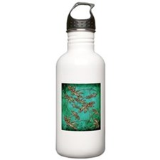 Dragonfly Turquoise Sw Sports Water Bottle