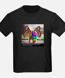 Rainbow butterfly kitten T-Shirt