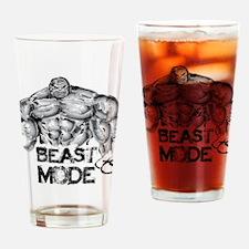 BEAST MODE Drinking Glass