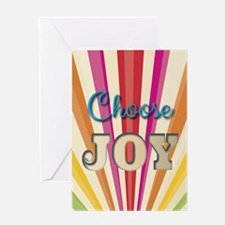 Choose Joy Greeting Cards