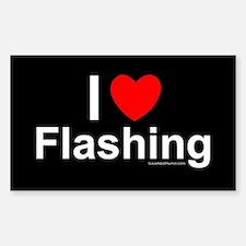 Flashing Sticker (Rectangle)