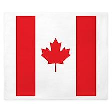 Canada Flag King Duvet