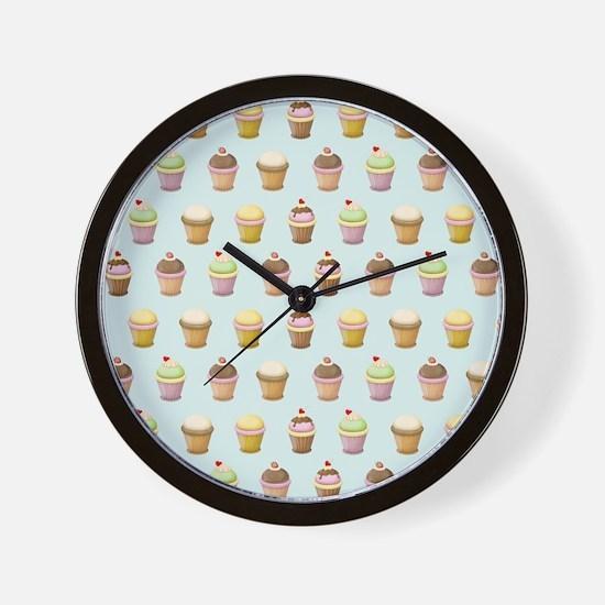 Cupcake Factory Wall Clock