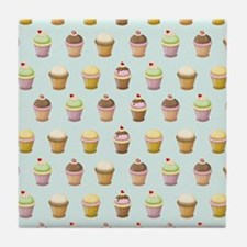 Cupcake Factory Tile Coaster