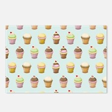 Cupcake Factory Postcards (Package of 8)