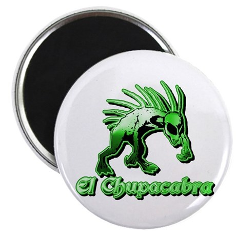 Chupacabra Plain Green Magnet