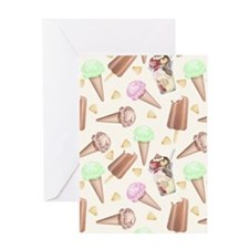 Ice Cream Scream Greeting Card