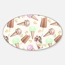 Ice Cream Scream Decal