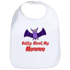 Batty About My Mummu Bib