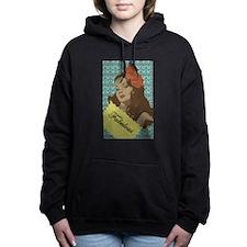 Vintage Beauty Women's Hooded Sweatshirt