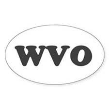 Wvo (waste Veggie Oil) Decal