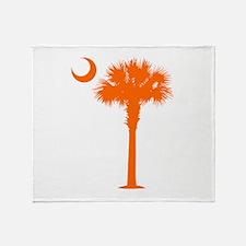 SC Flag (op) Throw Blanket