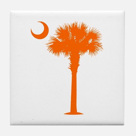 SC Flag (op) Tile Coaster