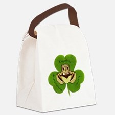 Irish Claddagh / Claddaugh Canvas Lunch Bag