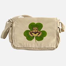 Irish Claddagh / Claddaugh Messenger Bag