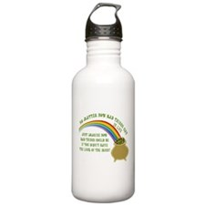 The Luck of the Irish Water Bottle