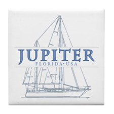 Jupiter Florida - Tile Coaster