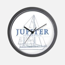 Jupiter Florida - Wall Clock