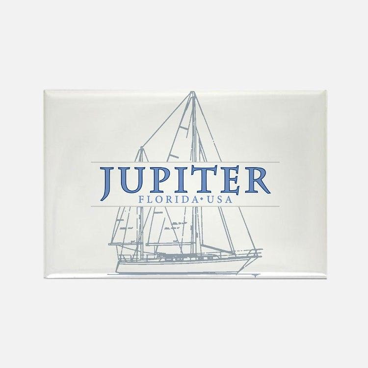 Jupiter Florida - Rectangle Magnet