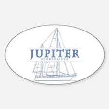 Jupiter Florida - Sticker (Oval)