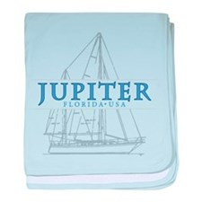 Jupiter Florida - baby blanket