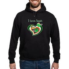 I Love Irish Hoodie