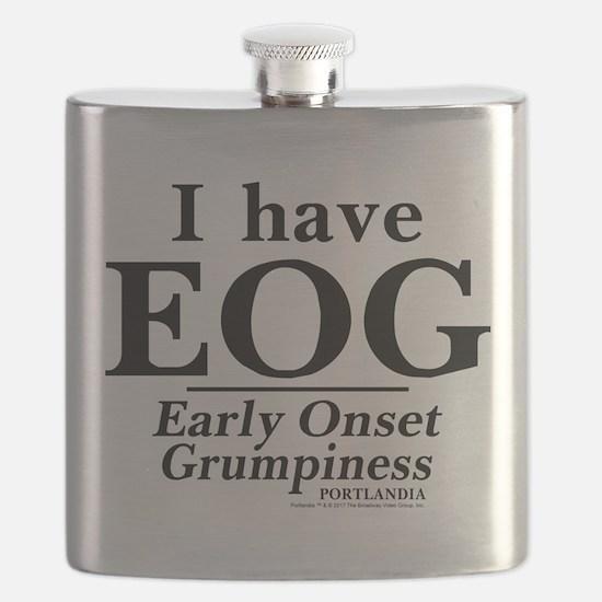 Early Onset Grumpiness Portlandia Flask