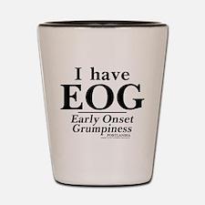 Early Onset Grumpiness Portlandia Shot Glass
