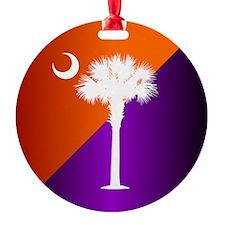SC Flag (op) Ornament