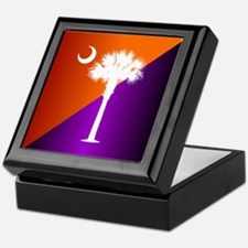 SC Flag (op) Keepsake Box