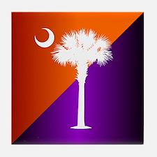 SC Flag (op) Tile Coaster